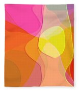 Abstract Collection 021 Fleece Blanket