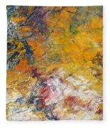 Abstract Composite Fleece Blanket