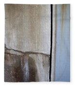 Abstract Concrete 1 Fleece Blanket