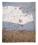 Abstract Concrete 13 Fleece Blanket