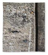 Abstract Concrete 16 Fleece Blanket