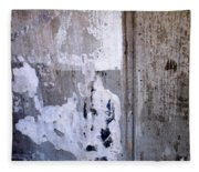 Abstract Concrete 6 Fleece Blanket