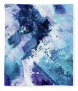 Abstract Division - 72t02 Fleece Blanket