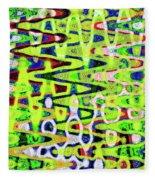 Abstract Dr #6 Fleece Blanket