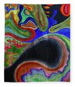 Abstract Dream Fleece Blanket