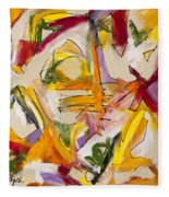 Abstract Expressionism Two Fleece Blanket