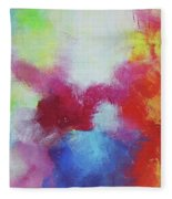 Abstract Expressions Fleece Blanket