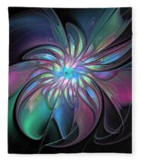 Abstract Fantasy Fleece Blanket