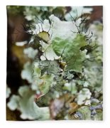 Abstract Flora 1 Fleece Blanket