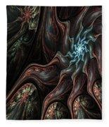 Abstract Fractal 050810 Fleece Blanket