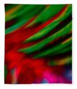 Abstract Frolic Fleece Blanket