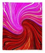Abstract Fusion 266 Fleece Blanket