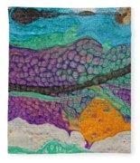 Abstract Garden Of Thoughts Fleece Blanket