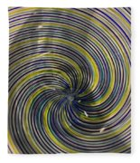 Abstract Glass 6 Fleece Blanket