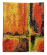 abstract I Fleece Blanket