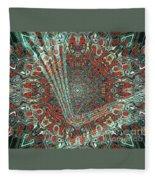 Abstract Air Landing  Fleece Blanket
