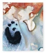 Abstract Modern Art - The Vessel - Sharon Cummings Fleece Blanket