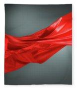 Abstract Motion Cloth Fleece Blanket