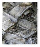 Abstract Nature Tropical Palm Tree Bark 1873a Fleece Blanket