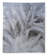 Abstract Of Ice Fleece Blanket