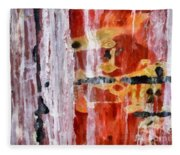 Abstract Painting Untitled #45 Fleece Blanket
