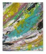 Abstract Piano 1 Fleece Blanket