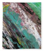 Abstract Piano 2 Fleece Blanket