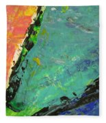 Abstract Piano 4 Fleece Blanket
