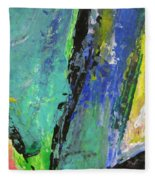 Abstract Piano 5 Fleece Blanket