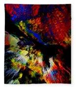 Abstract Pm Fleece Blanket