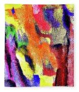 Abstract Poster Fleece Blanket