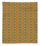 Abstract Square 56 Fleece Blanket