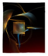 Abstract Still Life 012211 Fleece Blanket