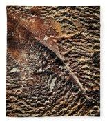 Abstract Surface Bumpy Stone Fleece Blanket