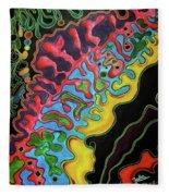 Abstract Thought Fleece Blanket