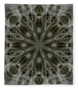 Abstract Wildflower 11 Fleece Blanket