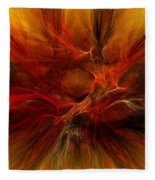 Abstract0610b Fleece Blanket