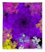 Abstract10-16-09-1 Fleece Blanket