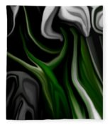 Abstract309h Fleece Blanket