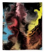 Abstract309i Fleece Blanket