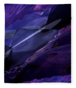 Abstractbr6-1 Fleece Blanket