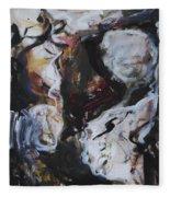 Abstraction#6 Fleece Blanket