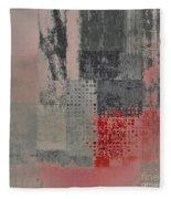 Abstractionnel Fleece Blanket