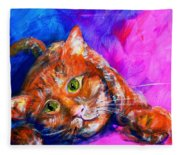 Abstrcat Fleece Blanket