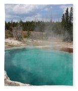 Abyss Pool Fleece Blanket