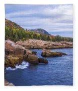 Acadia's Coast Fleece Blanket