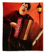 Accordeon Fleece Blanket