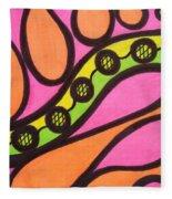 Aceo Abstract Design Fleece Blanket