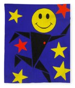 Acid Jazz Fleece Blanket