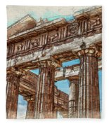 Acropolis I Fleece Blanket
